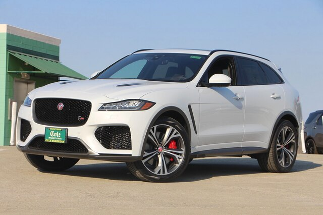 Jaguar Suv F Pace >> New 2020 Jaguar F Pace Svr With Navigation Awd