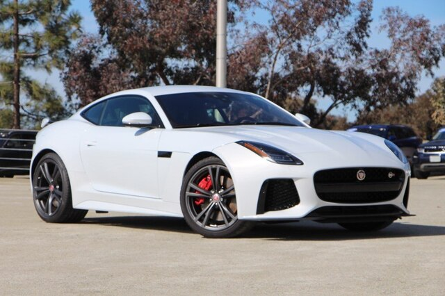 Jaguar F Type Coupe >> New 2019 Jaguar F Type Svr With Navigation Awd