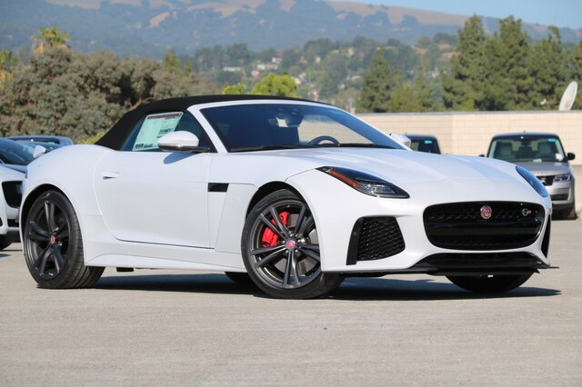 Jaguar F Type Convertible >> New 2020 Jaguar F Type Svr With Navigation Awd