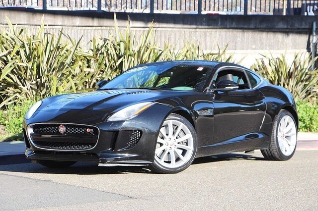 Jaguar F Type Coupe >> Certified Pre Owned 2016 Jaguar F Type S With Navigation