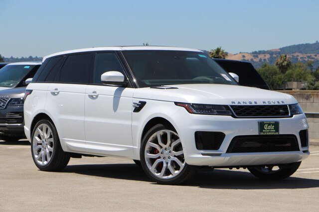 Land Rover Sport >> New 2019 Land Rover Range Rover Sport Autobiography With Navigation 4wd